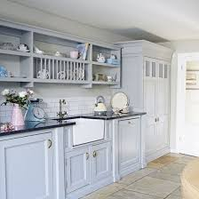Plain Blue Country Kitchens Kitchen Designs Photo 10 D In Ideas