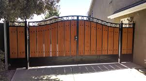large colonial wooden gate iron gates with wood a48