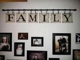 my diy family sign curtain rod curtain clips linoleum from the dollar