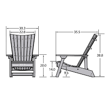 manhattan beach adirondack chair with wine glass holder
