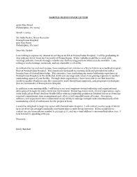 Nursing Graduate Cover Letter Nurse Practitioner Cover Letter