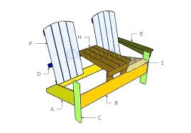 Adirondack Rocking Chair Plans Double Chair With Table Plans How