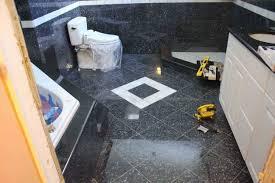 Diy Bathroom Floors Spectacular Granite Tiles For Bathroom Floor With Diy Home