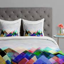 graphic  y  duvet cover (twin size)  deny design  touch of
