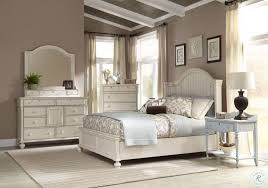 Newport Antique White Panel Bedroom Set from American Woodcrafters ...