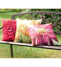 Oversized Outdoor Cushions Our All Weather Outdoor Flower Throw
