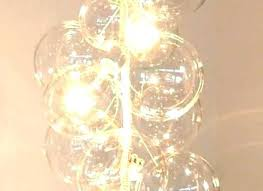 bubble glass chandelier bubble glass chandelier lighting globe light s bub bubble glass pendant shade