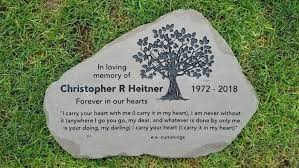 personalized garden stepping stones canada lilac for memorial