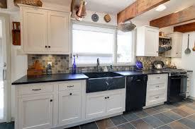 white country galley kitchen. Wonderful Kitchen Galley White Country Kitchen Traditionalkitchen With