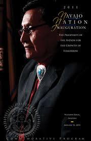 Cal Nez Design Presidential Inauguration Program