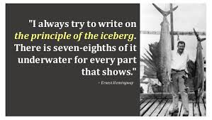 the iceberg theory in the old man and the sea 5