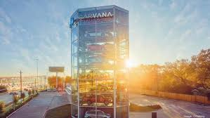 Carvana Vending Machine Houston Extraordinary Carvana opens Houston car vending machine off Katy Freeway Houston