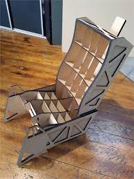 Cardboard Chair Design Best Flight Simulator Cockpits Modern House