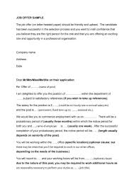 employment offer letter template best business template 44 fantastic offer letter templates employment counter offer job throughout employment offer