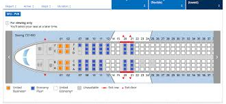 Sunwing 737 800 Elite Seating Chart Where To Sit On A United 737 800 Page 18 Flyertalk Forums