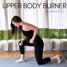 10 minute upper body burner dumbbell