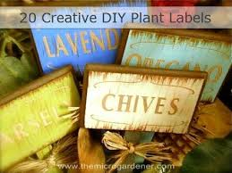 20 creative diy plant labels markers