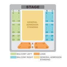 Act San Francisco Seating Chart Seating Charts The Regency Ballroom