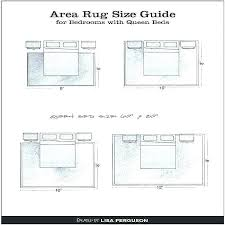 rug under queen bed simple size for master bedroom area what to put