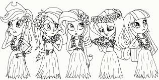 My Little Pony Equestria Girls Coloring My Little Pony Coloring