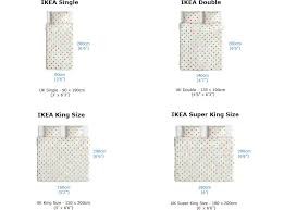 Mattress Size Chart European Ikea Mattress Sizes Chart To Compare Differences In