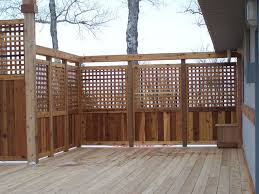 Privacy deck rail Sturdy Deck Privacy Deck Railing Ideas View Lots Of Deck Railing Ideas Httpawoodrailing Pinterest Pin By Mountain Laurel Handrails On Deck Railing Ideas In 2019