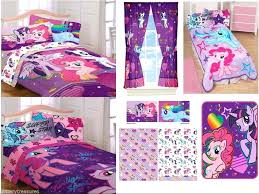 my little pony bed set kids girls my little pony bedding bed in a bag comforter