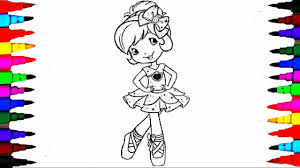 Small Picture Learn Colors Coloring Strawberry Shortcake Coloring Pages Videos