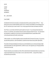 Employment Acceptance Letter Conditional Lease Agreement Template Job Offer Acceptance