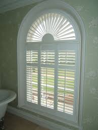 Windows Blinds For Half Circle Windows Decorating Custom Roman Semi Circle Window Blinds