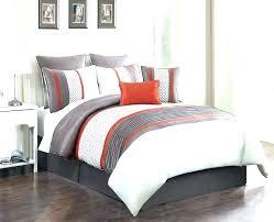 orange and blue comforter sets bedding purple grey navy o