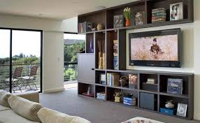 living room with tv. Family Room TV Wall In Modern Living - 15 Inspiring Examples With Tv R