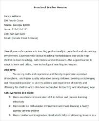 objective for teaching resume 20 simple teacher resume templates pdf doc free premium