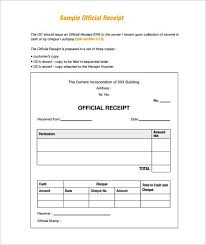 example receipt template sample receipt receipt template doc for word documents in
