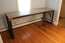 tall desk table office work tables handmade modern industrial desk work  regarding incredible property tall desk