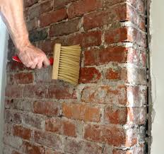 cleaning bricks on fireplace clean old red brick how to around white clean brick fireplace