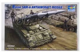 00361   Trumpeter 1/35 Russian SAM-6 Anti-Aircraft Missile Scaled Plastic Model Kit