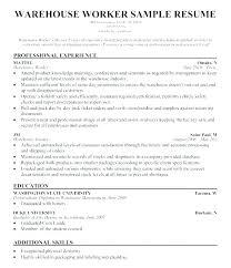 Packer Resume Sample Best of Sample Resume Computer Skills List Of Resume Skills Examples Packer
