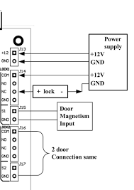 how to wire an access control board power outputs wiring