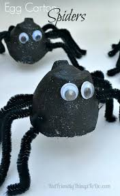 Cardboard Tube Spiders for Halloween | Cardboard tubes, Spider and Craft