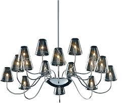 16 light chandelier chic chic chandelier chic light chandelier touareg 16 wide chrome 6 light crystal