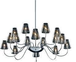 16 light chandelier chic chic chandelier chic light chandelier touareg 16 wide chrome 6 light crystal