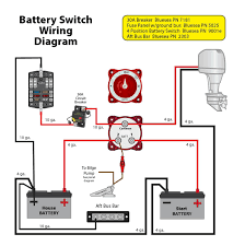 marine dual battery wiring diagram agnitum me perko dual battery switch at Two Battery Boat Wiring Diagram