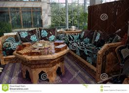 Moroccan Living Room Design Moroccan Living Room Interior Royalty Free Stock Images Image
