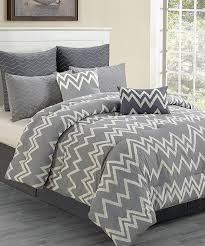 chevron grey bedding bedding lovely grey chevron beddi and mainstays bedding