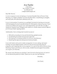 Sample Cover Letter For Creditors Clerk Position