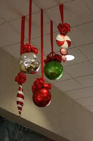 office christmas decor ideas. Christmas Ornaments Above Your Work Space. Those May Remind You Of Some Fun Family Times And Can Instantly Turn Mood Around On A Bad Day! Office Decor Ideas E