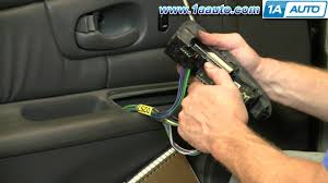how to install replace power window switch buick regal century 1997 Universal Power Window Switch Kit at Power Window Switch Wiring Diagram Buick Century