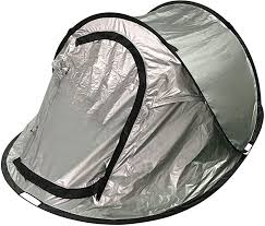 Mountain Warehouse Black Out Pop-Up 3 Man <b>Tent</b> - <b>Double Skin</b> ...