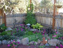 Small Picture Small shade garden design ideas with rock edging for plans corner